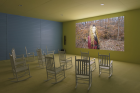 "Exhibition view of ""Lizzie Fitch 