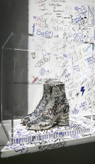 Tabi Boots with Graffiti, 1991 Photo: © Marina Faust