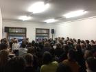 Die Volksbühne, heute, 29.4.2015, verkauft