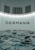 Hans Haacke, Germania, installation view German pavilion, 45th Venice Biennale, 1993