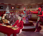Gucci Fall Winter 2017 film campaign  Regisseur: Glen Luchford, Art Director: Christopher Simmonds M & © 2017 CBS Studios Inc. STAR TREK and related marks are properties owned by CBS Studios Inc. All Rights Reserved.