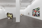 """Installation view of """"Wang Jianwei: Always being, but not the whole """" , 2021, Courtesy Long March Space"""