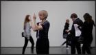Meg Stuart performing at MoMA (2013) © Cesar Vayssie