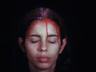 Ana Mendieta Still from Sweating Blood (1975) Courtesy Galerie Lelong & Co.; Photo: The Estate of Ana Mendieta Collection