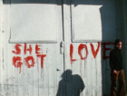 Ana Mendieta Still from Blood Writing (1974) Courtesy Galerie Lelong & Co.; Photo: The Estate of Ana Mendieta Collection