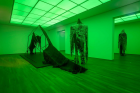 "Installation view from Sandra Mujinga, ""Preis der Nationalgalerie 2021"" at Hamburger Bahnhof, Berlin."