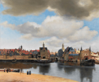 Johannes Vermeer, View of Delft , 1660-1661 Oil on Canvas.96.5cm ×115.7cm