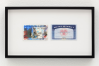 Cameron Rowland Passport and Social Security Card, 2018 Unregistered IDs 2 3/16 x 3 7/16 and 2 3/16 x 3 7/16 inches (5.55 × 8.73 cm and 5.55 × 8.73 cm)