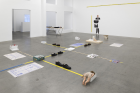 "View of Win McCarthy, ""RULER"", Galerie Neu, Berlin, 2021. Courtesy: the artist and Galerie Neu, Berlin. Photo: Stefan Korte"