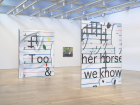 Installation view From left to right: Untitled , 2015; Untitled , 2015